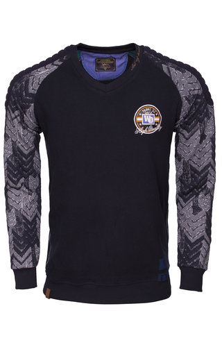Wam Denim Sweater 76123 Navy
