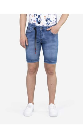 Wam Denim Korte Broek 72271 Light Blue