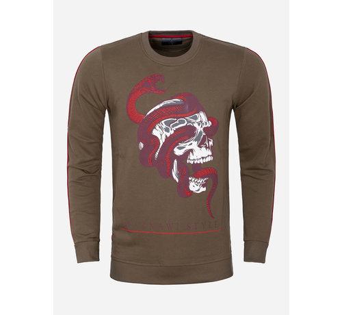 Gaznawi Sweater 66029 Concord Khaki