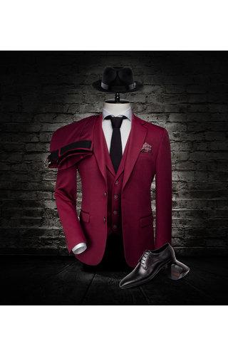 Wam Denim Jacket 70025 Dark Red