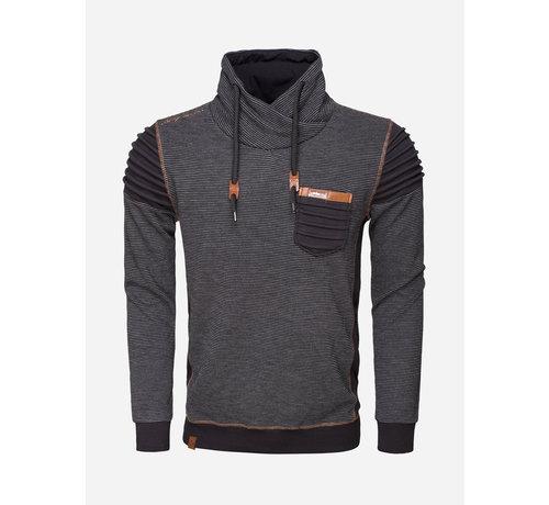 Wam Denim Sweater 76143 Black Grey