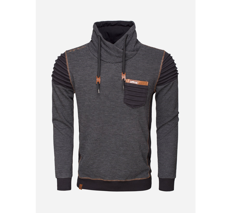 Sweater 76143 Black Grey
