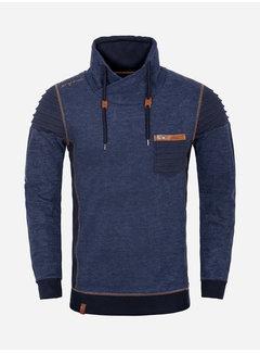 Wam Denim Sweater 76143 Navy Royal Blue