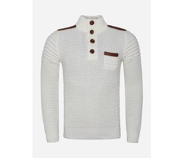 Wam Denim Sweater 77215 Off White