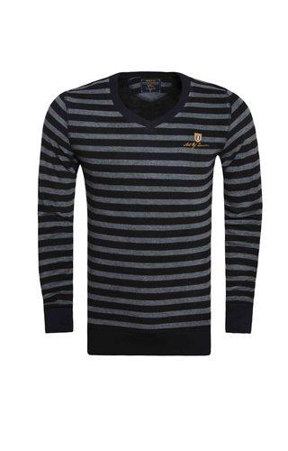 Wam Denim Sweater 76079 Black Grey