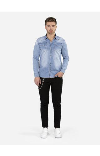 Wam Denim Denim Overhemd 119 Blue