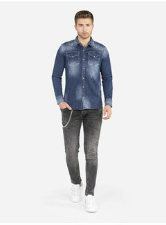 Wam Denim Denim Shirt 111 Blue