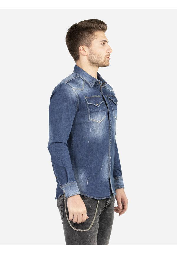 Denim Overhemd 111 Blue