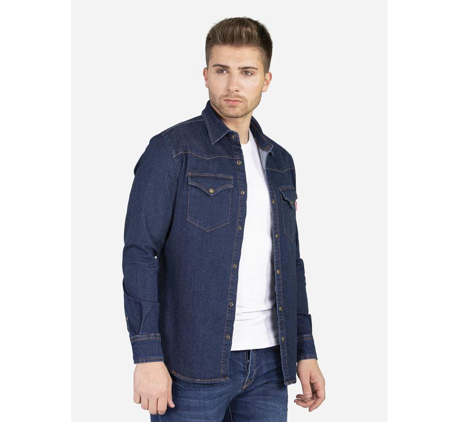 Denim Overhemd 129 Blue