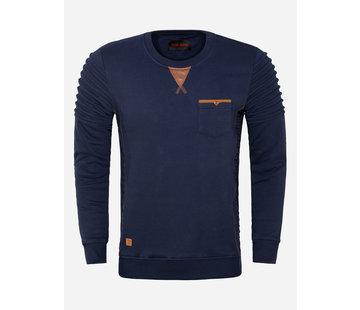 Wam Denim Sweater 76199 San Angelo Navy