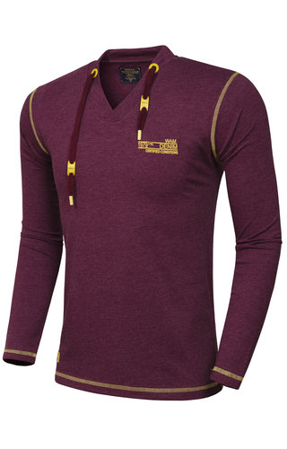 Wam Denim Sweater 79196 Dark Red