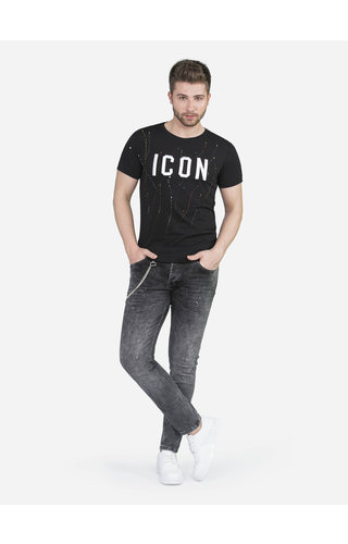 Wam Denim T-Shirt 89300 Black