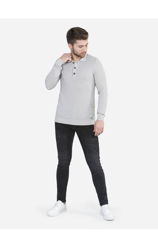 Wam Denim Sweater Le Landeron Grey