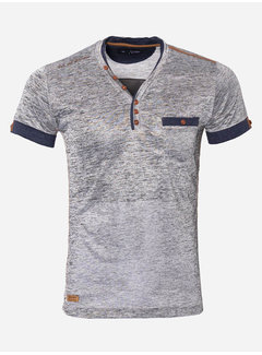 Wam Denim T-Shirt Kansas City 89290 Grey