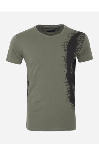Gaznawi T-Shirt 69108 Murrieta Khaki