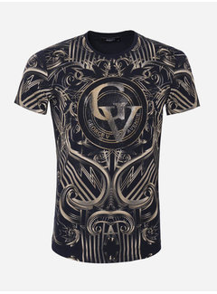 George V T-Shirt GV533 Navy