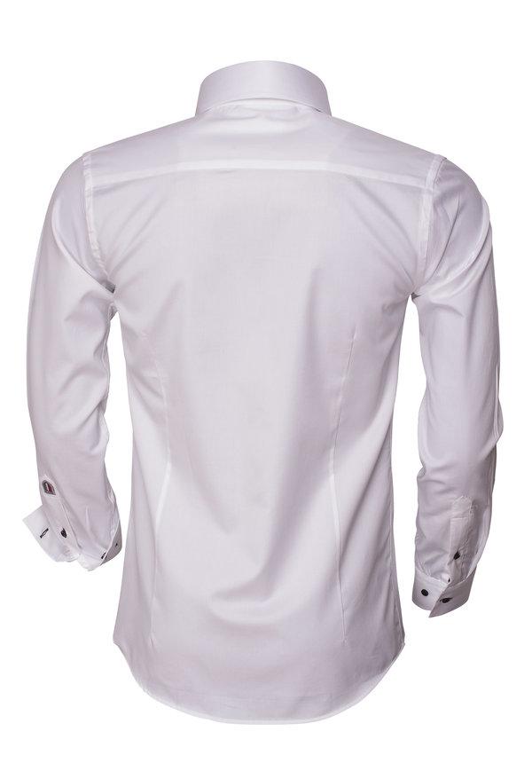 Overhemd Lange Mouw 75449 White