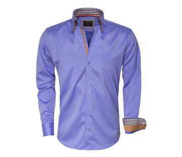 Wam Denim Shirt Langs Leeve 75379 Blue