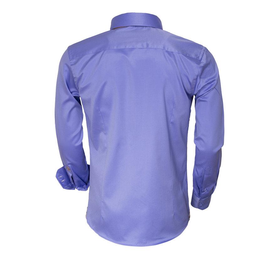 Overhemd Lange Mouw 75379 Blue