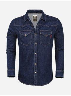 Wam Denim Denim Overhemd 129 Blue