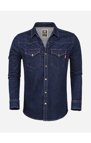Wam Denim Denim Shirt 129 Blue