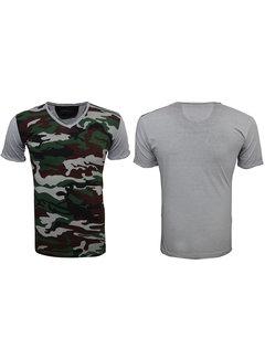 Wam Denim T-Shirt 79061 Groen