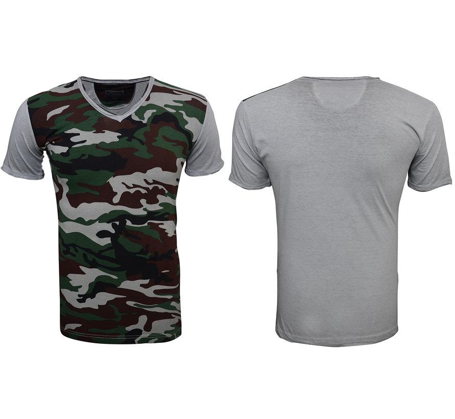 T-Shirt 79061 Groen