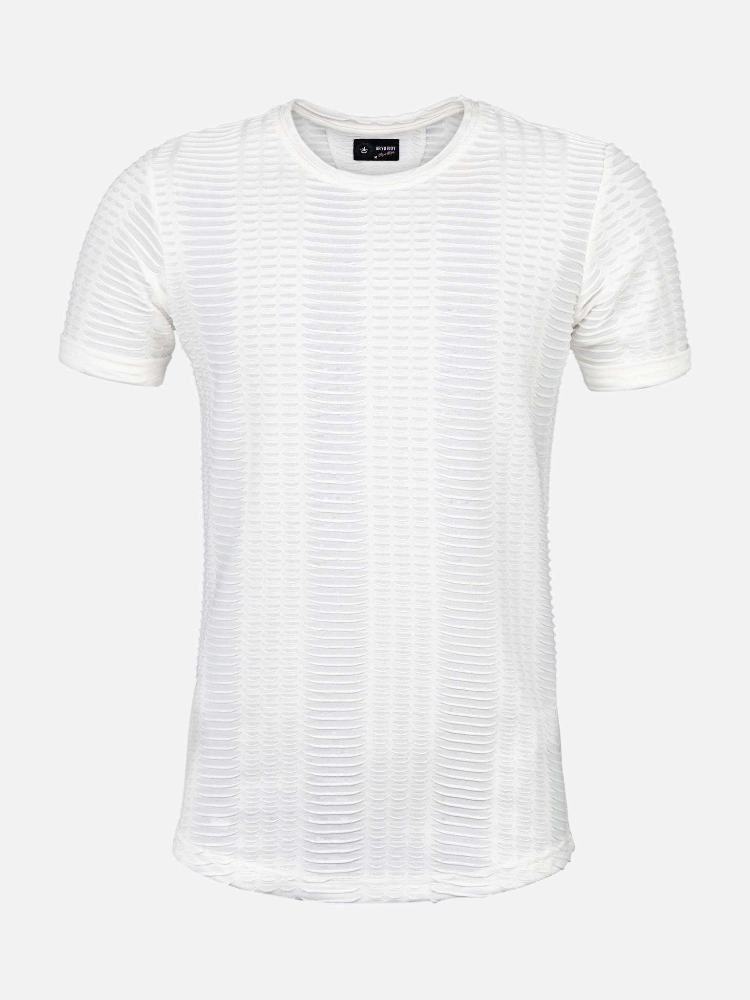 Wam Denim T-Shirt Uzwil White Maat: M