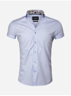 Wam Denim Overhemd Korte Mouw 75555 Light Blue