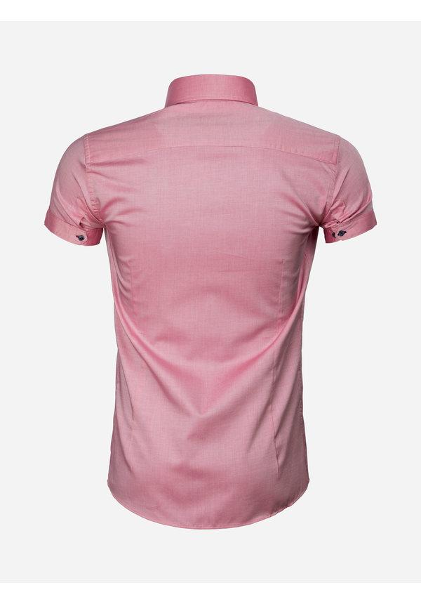 Overhemd Korte Mouw 75555 Light Red