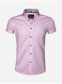 Wam Denim Overhemd Korte Mouw 75555 Monza Pink