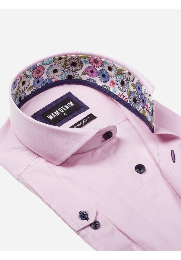 Overhemd Korte Mouw 75555 Monza Light Pink