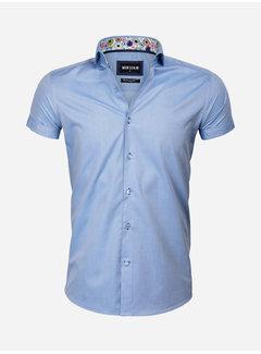 Wam Denim Shirt Short Sleeve 75555 Monza Dark Blue