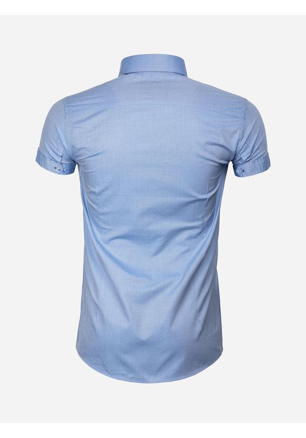 Overhemd Korte Mouw 75555 Monza Dark Blue