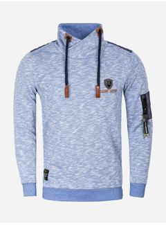 Wam Denim Sweater 66006 Frisco Royal Blue
