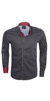 Overhemd Lange Mouw 75149 Black