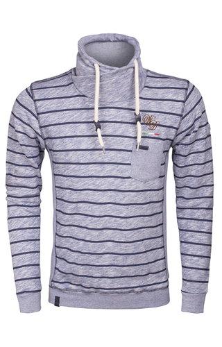 Wam Denim Sweater 58005 Royal blue
