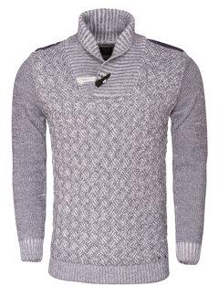 Wam Denim Sweater 77060 Navy White
