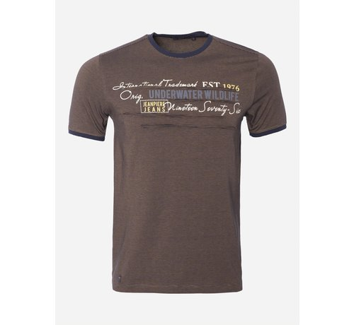 Wam Denim T-Shirt 38 Bruin