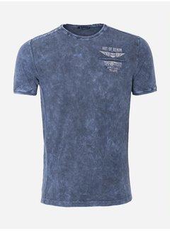 Wam Denim T-Shirt 61 Blauw