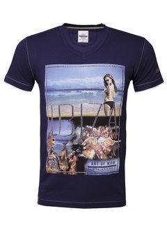 Wam Denim T-Shirt Ibiza Light Navy