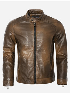 Wam Denim Summer Jacket 88911 Brown