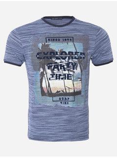 Wam Denim T-Shirt 101 Dark Blue