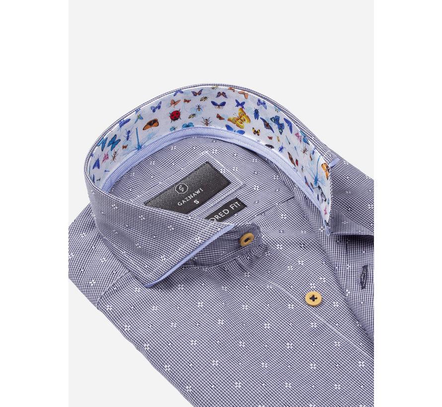 Overhemd Korte Mouw 65037 Olbia Navy