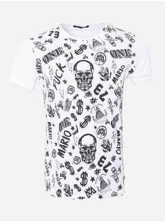 Wam Denim T-Shirt 124 White