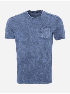 Wam Denim T-Shirt 55 Blauw