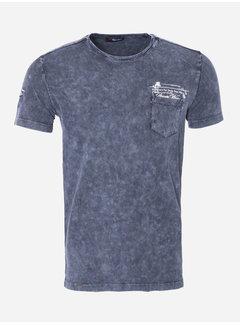 Wam Denim T-Shirt 66 Blauw