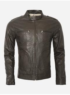 Wam Denim Summer jacket 71114 brown