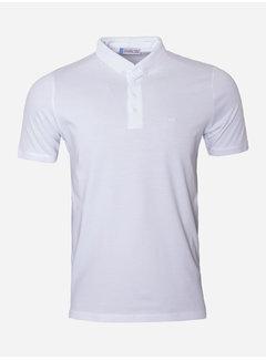 Wam Denim T-Shirt Polo 74 Wit