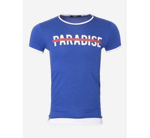Wam Denim T-Shirt 103 Blauw